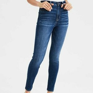 American Eagle Super High Rise Jeggings Jeans